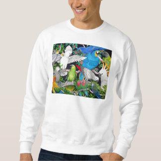 Papegaaien van het Sweatshirt van de Wereld