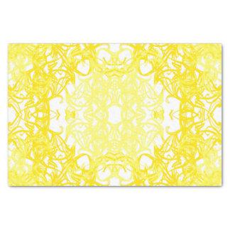 papier gele mousseline 25,4 x 38,1 cm tissue papier
