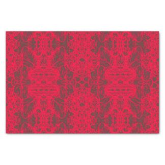 papier rode mousseline 25,4 x 38,1 cm zijdepapier