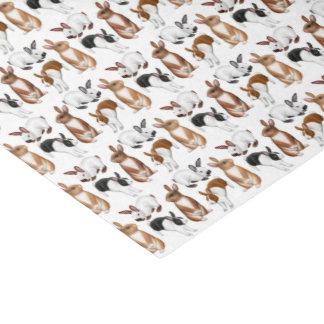 Papieren zakdoekje van de Konijnen van het Tissuepapier