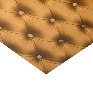 Papieren zakdoekje voor de gift met gouden 25,4 x 38,1 cm zijdepapier