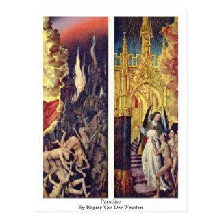 Paradijs door Rogier van der Weyden Briefkaart