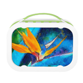 paradijsvogel bloem lunchbox
