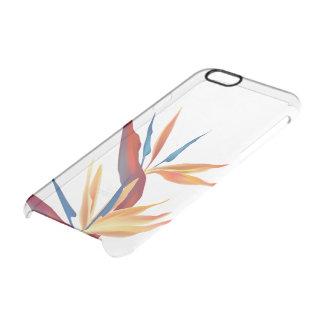 Paradijsvogel Doorzichtig iPhone 6/6S Hoesje