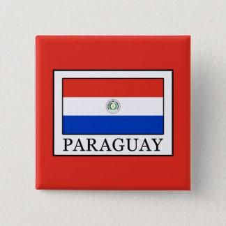 Paraguay Vierkante Button 5,1 Cm