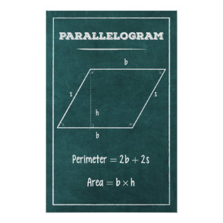 Parallellogram Poster