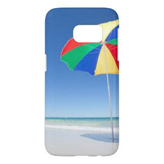 Paraplu op Strand | Australië Samsung Galaxy S7 Hoesje