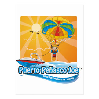 Parasailing in Mexico Briefkaart