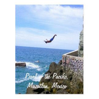 Parel van de Stille Oceaan, de Duiker van de Klip Briefkaart