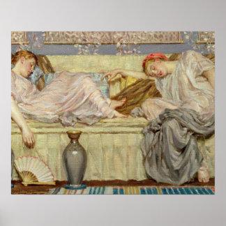 Parels (studie), c.1875 (olie op canvas) poster