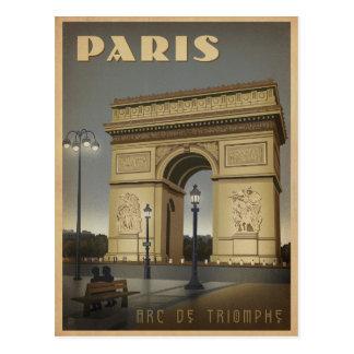 Parijs - Arc DE Triomphe Briefkaart