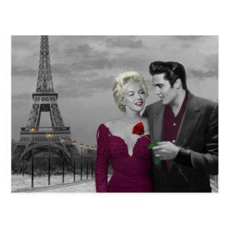 Parijs B&W Briefkaart
