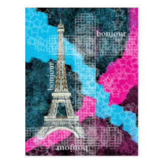 Parijs Bonjour Briefkaart