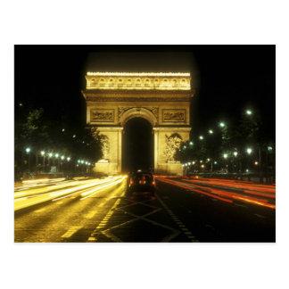 Parijs - Boog van Zege - Briefkaart