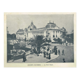 Parijs Expo 1900, het Petit Palais van Champs Briefkaart