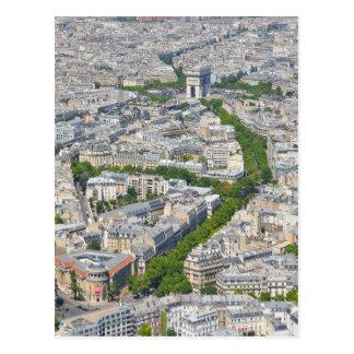 Parijs, Frankrijk Briefkaart