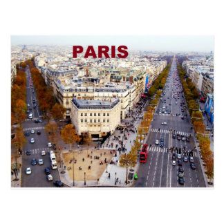 Parijs Frankrijk Champs Elysees (St.K) Briefkaart
