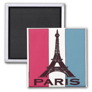 Parijs, Frankrijk, de Toren van Eiffel Vierkante Magneet