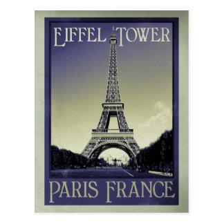 Parijs Frankrijk de wijnoogst ziet eruit Briefkaart