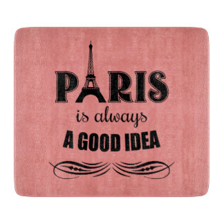 Parijs is altijd een goed idee snijplank