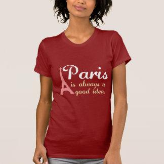 Parijs is altijd een goed idee t shirt