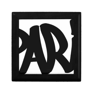 Parijs-label Decoratiedoosje