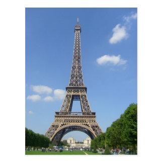 Parijs - Omloop Eiffel - Briefkaart