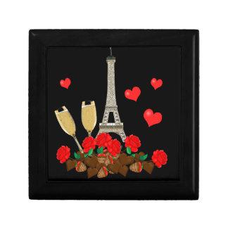 Parijs - stad van liefde decoratiedoosje