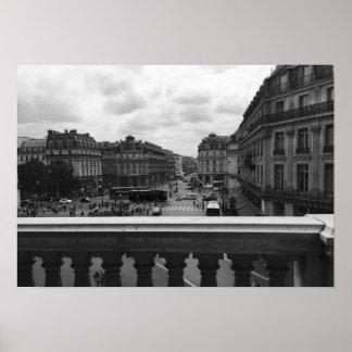 Parijs van de Opera Garnier Poster