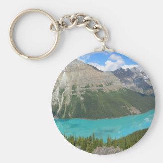 Park Alberta Canada van Banff van het Meer van Sleutelhanger