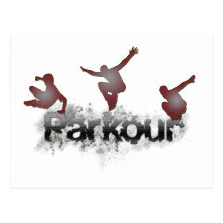 Parkour Briefkaart