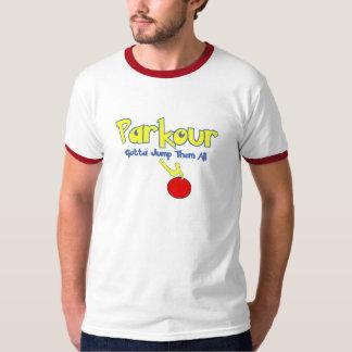 Parkour-parodie T Shirt