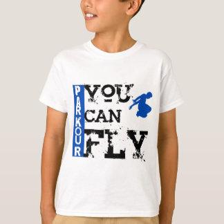 Parkour - u kunt vliegen t shirt
