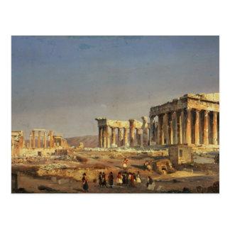 Parthenon, 1863 briefkaart