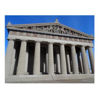 Parthenon, Nashville Briefkaart
