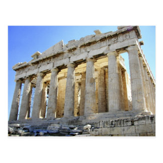 Parthenon op de Akropolis Briefkaart