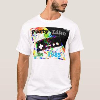 Partij als zijn 1985 t shirt