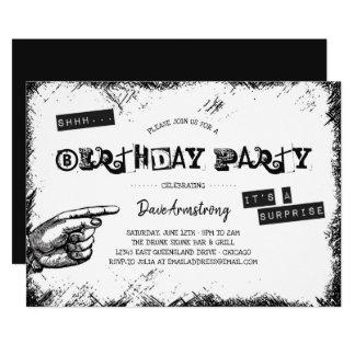 Partij van de Verjaardag van de Verrassing van Kaart