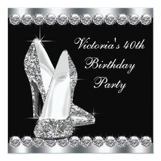 Partij van de Verjaardag van de vrouw de Elegante  Persoonlijke Aankondiging
