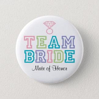 Partner van de Knoop van de Bruid van het Team van Ronde Button 5,7 Cm