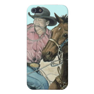 Partners, het Art. van de Cowboy iPhone 5 Hoesje