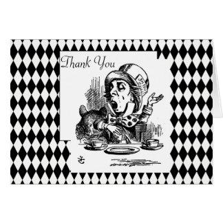 Pas dank u Gekke Hoedenmaker aan Briefkaarten 0