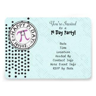 Pas - de Leuke Partij van de Dag van de Stip Geluk Gepersonaliseerde Uitnodiging