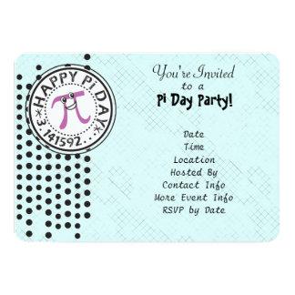 Pas - de Leuke Partij van de Dag van de Stip 12,7x17,8 Uitnodiging Kaart