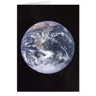 Pas de Sterrige Hemel van de Aarde aan Kaart