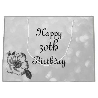 Pas deze Gelukkige 30ste Verjaardag aan Groot Cadeauzakje