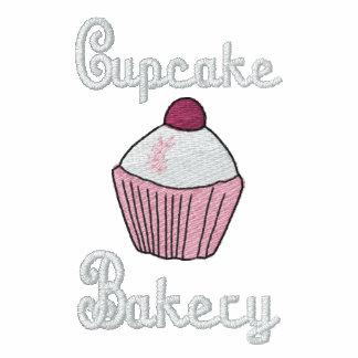 PAS - het Geborduurde Logo van de Bakkerij Cupcake Geborduurd Fleece Track Jack