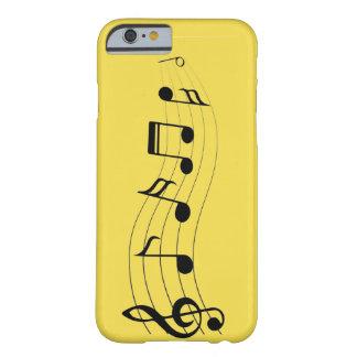 Pas Muzieknoten aan Barely There iPhone 6 Hoesje
