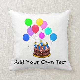 Pas Uw Eigen Hoofdkussen van de Verjaardag aan! Sierkussen