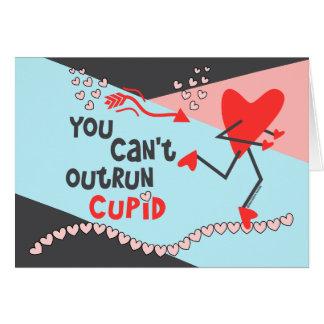 Pas Valentijn van de Agent aan - kan geen Cupido Wenskaart